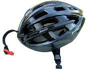 Cycle helmet for protection in bicycle accident