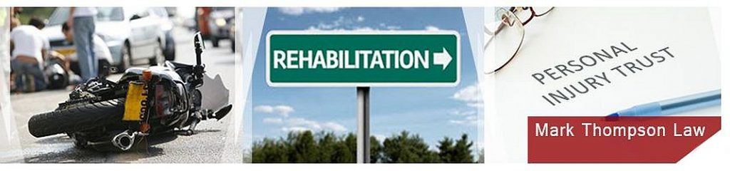 Personal injury trust compensation and rehabilitation Mark Thompson Law